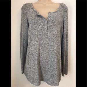 AERIE Super Soft Henley Sweater